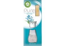 Air Wick Reed Diffuser Pure Spring Delight - Svieža vánok vonné tyčinky osviežovač vzduchu 25 ml