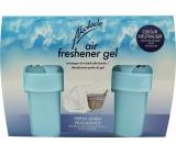 Akolade Air Freshener Fresh Linen solid gél osviežovač vzduchu 2 x 150 g