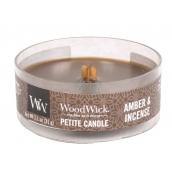 Woodwick sviečka petite Amber & Incense 2105