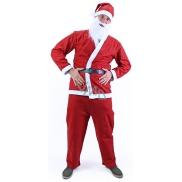 Kostým Santa Claus bez fúzov