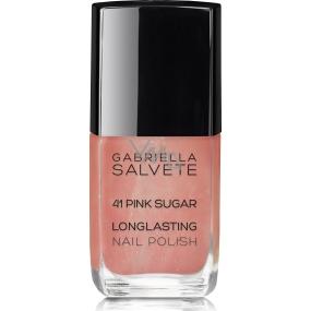 Gabriella salva Longlasting Enamel lak na nechty 41 Pink Sugar 11 ml