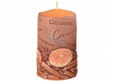 Emóciám Škorica Cinnamon vonná sviečka valec 60 x 110 mm