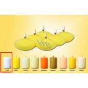Lima Plávajúce šošovka sviečka biela 50 x 25 mm 6 kusov