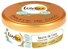 Lovea Bio Kokosový olej a vitamín E maslo na tvár, telo, vlasy, ruky, lakte 150 ml