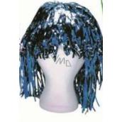 Parochňa lametová alu krátka modrá