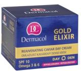 Dermacol Gold Elixir SPF 10 Omladzujúci kaviárový denný krém 50 ml