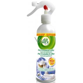 Air Wick Aqua Svieža bielizeň & Biela ľalia tekutý osviežovač vzduchu 345 ml