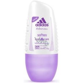Adidas Cool & Care 48h Soften kuličkový antiperspirant deodorant roll-on pro ženy 50 ml