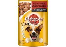 Pedigree Vital Protection s hovädzím a jahňacím mäsom v šťave kapsička 100 g