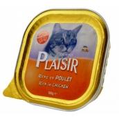 Plaisir Cat Kuracie vanička 100 g