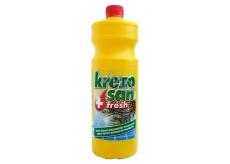 Krezosan Fresh čistící a dezinfekční prostředek na všechny druhy dodlah, chodeb, WC 950 ml