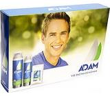 Astrid Adam Skin Protect+ balzám po holení pro muže 100 ml + pěna na holení 250 ml + antiperspirant sprej 150 ml, kosmetická sada