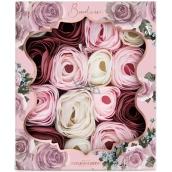 Baylis & Harding Boudoire Zamatová ruže a Kašmír vonné mydlovej lístky, kozmetická sada