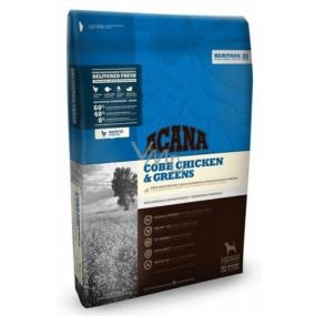 Acana Adult Cobb Chicken & Greens Heritage kompletné krmivo vhodné pre všetky plemená dospelých psov 17 kg