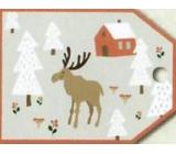 Nekupto Vianočné kartičky na darčeky sob 5,5 x 7,5 cm 6 kusov