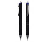 Spoko Panther Nature guľôčkové pero, Easy Ink, čierne, modrá náplň 0,5 mm