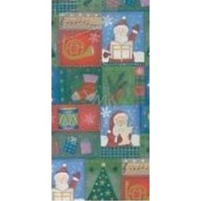 Zöllner Darčekový baliaci papier 70 x 500 cm Vianočné Santa
