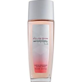 Celine Dion Sensational parfémovaný deodorant sklo pro ženy 75 ml Tester