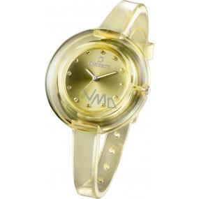 Ops! Objects Nude Watches hodinky OPSPW-69 světle žlutá