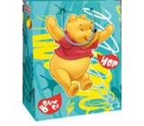 Ditipo Disney Dárková papírová taška pro děti M Medvídek Pú, Hop 18 x 10 x 22,7 cm