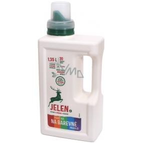 Jelen Barevné prádlo prací gel 30 dávek 1,35 l