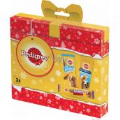 Pedigree Vianočný balíček s maškrty pre psov, 237 g