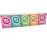 Linteo Mini kapesníky papírové 3 vrstvé 10 x 10 kusů