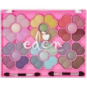 Eden BC Flower Cosmetic Pallette dětská kosmetická paleta 30 očních stínů