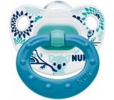 Nuk Classic Happy Days ortodontický silikonový dudlík 1 kus pro děti 6-18 měsíců