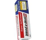 Blend-a-dent Super-Haftcreme Complete Extra Stark fixační krém pro zubní náhrady, protézy 47 g