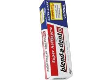 Blend-a-dent Super-Haftcreme Complete Extra Stark fixačný krém pre zubné náhrady, protézy 47 g