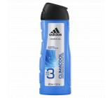 Adidas Climacool 3v1 sprchový gél na telo, tvár a vlasy pre mužov 400 ml