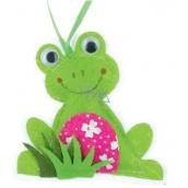 Ditipo Žaba z látky na zavesenie 8 cm
