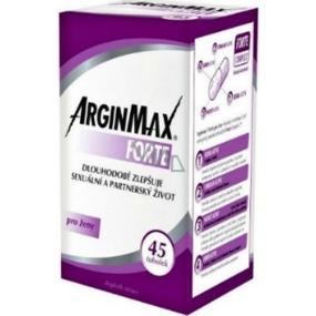 ArginMax Forte pro ženy pro dosažení a udržení erekce a zvýšení sexuální výkonnosti tobolky 45 kusů