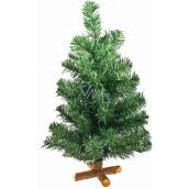 Stromček nezdobený s krížovým stojanom 50 cm