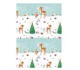 Ditipo Darčekový baliaci papier 70 x 200 cm Vianočný srneček sa stromčekom