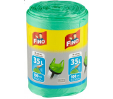 Fino Color Sáčky do odpadkového koša s ušami zelený 35 litrov 49 x 60 cm 13 μ 100 kusov