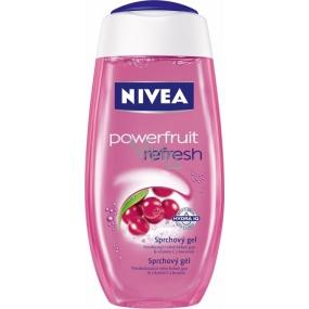 Nivea Powerfruit Refresh sprchový gél sila ovocia a rozmaznávajúce starostlivosť 250 ml