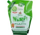 Winnis Eko Piatti Lime koncentrovaný hypoalergénne umývací prostriedok na riad 1 l
