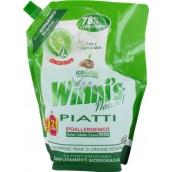 Winnis Piatti Lime Ekologický koncentrovaný hypoalergénne umývací prostriedok na riad 1 l