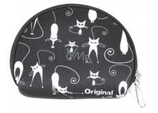 Albi Original Neoprén Mini peněženka Kočky, 7 x 8 cm