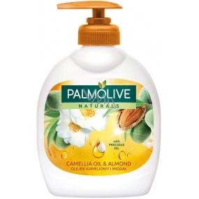Palmolive Naturals Camellia & Almond Oil tekuté mydlo dávkovač 300 ml
