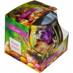 Admit Easter Crocus dekoratívne aromatická sviečka v skle 80 g