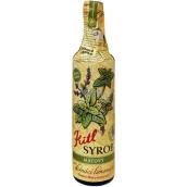 Kitl Syrob Bio Mätový sirup pre domáce limonády, z čerstvo trhané mäty, pestované v kvalite Bio 500 ml