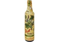 Kitl Syrob Bio Mátový sirup pro domácí limonády, z čerstvě trhané máty, pěstované v kvalitě Bio 500 ml