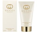 Gucci Guilty pour Femme telové mlieko pre ženy 150 ml