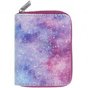 Albi Original Peňaženka malá Vesmír 11 x 8,5 x 2,7 cm