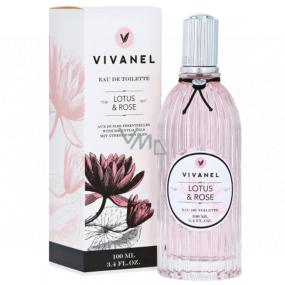 Vivian Gray Vivanel Lotus & Rose luxusné toaletná voda s esenciálnymi olejmi pre ženy 100 ml