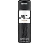 David Beckham Classic deodorant sprej pre mužov 150 ml