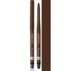 Rimmel London Exaggerate automatická vodeodolná ceruzka na oči 212 Rich Brown 0,28 g